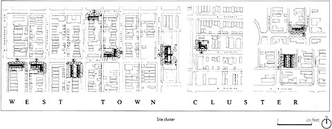Affordable Housing Design Advisor - Cluster home floor plans