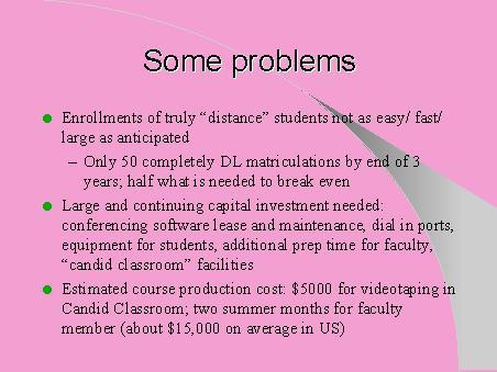 sme problems