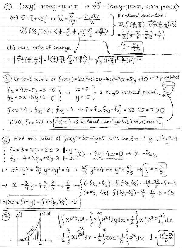 Math 211-102, Calculus IIIA, Spring 2009, Victor Matveev, DMS, NJIT